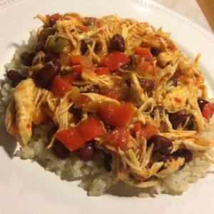 Mexicansk panderet med kylling